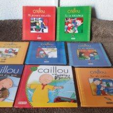 Libros: CUENTOS INFANTILES CAILOU. Lote 211936115