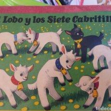 Libros: CUENTO EN 3 DIMENCIONES ( 1966 ))::EL LOBO Y LOS 7 CABRITOS. Lote 214824433