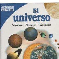 Libros: EL UNIVERSO- APRENDER ES FACIL. Lote 215661306