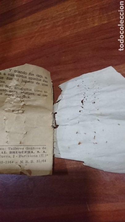 Libros: Viejo mini cuento, serie 32,número 7,tesoro de cuentos bruguera, años 60 - Foto 4 - 216505985