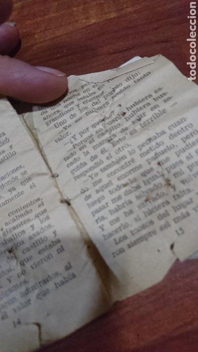 Libros: Viejo mini cuento, serie 32,número 7,tesoro de cuentos bruguera, años 60 - Foto 5 - 216505985