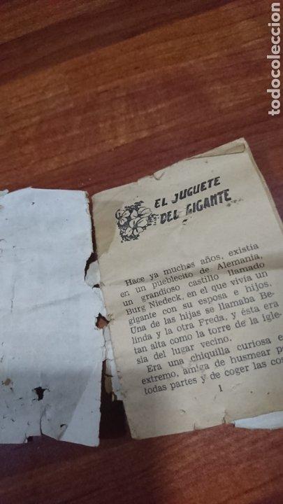 Libros: Viejo mini cuento, serie 32,número 7,tesoro de cuentos bruguera, años 60 - Foto 6 - 216505985