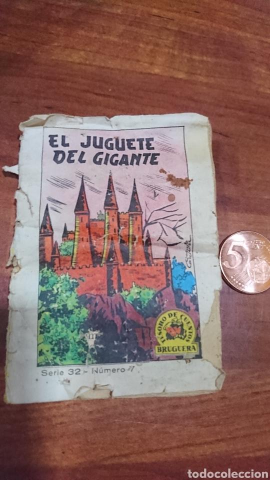 VIEJO MINI CUENTO, SERIE 32,NÚMERO 7,TESORO DE CUENTOS BRUGUERA, AÑOS 60 (Libros Nuevos - Literatura Infantil y Juvenil - Cuentos infantiles)