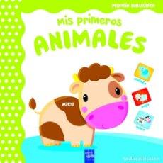 Libros: MIS PRIMEROS ANIMALES (PEQUEÑA BIBLIOTECA) (ESPAÑOL) LIBRO DE CARTÓN –. Lote 216768312