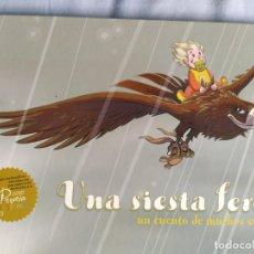 Libros: LIBRO UNA SIESTA FEROZ. Lote 217442246