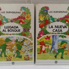 Libros: LAS DUENDELINAS. LLEGADA AL BOSQUE. LA NUEVA CASA. NUEVOS. SIN LEER. PUBLICACIONES FHER. 1990.. Lote 217601485