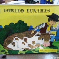 Libros: POP UP-CARLOS EL GRUMETE-EL TORITO LUNARES,MICAELA LA DOMADORA,OBJETIVO LA LUNA,4 TOMOS,MOLINO 1970,. Lote 219041592