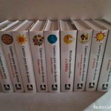 Libros: CUENTOS INFANTILES PARA ANTES DE DORMIR. EDITORIAL EVEREST. 9 LIBROS NUEVOS.. Lote 219220182