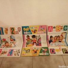 Libros: 3 CUENTOS POP UP ABC PETUFO CON NUMEROS CUENTO DIDACTICO SOLDADITO DE PLOMO CON SILABAS LA CENICIENT. Lote 219417296