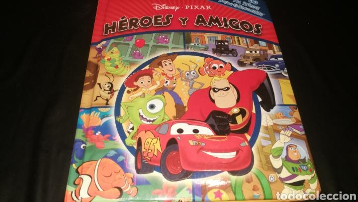 HÉROES Y AMIGOS , DISNEY PIXAR (Libros Nuevos - Literatura Infantil y Juvenil - Cuentos infantiles)