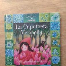 Libros: LA CAPUTXETA VERMELLA EDICIONS 62, CATALÁN.TAPA DURA. COLECCION ELS NOSTRES CONTES IL.LUSTRATS, Nº3. Lote 222141440