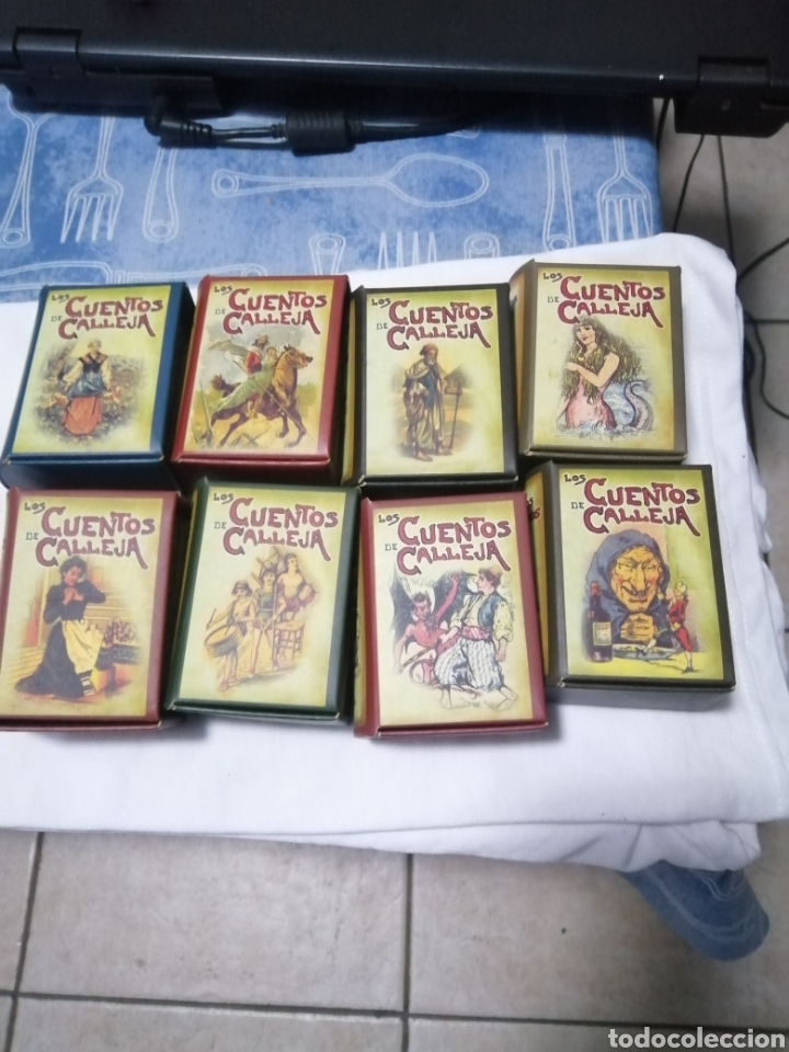 LOTE DE CUENTOS.. CALLEJA.. (Libros Nuevos - Literatura Infantil y Juvenil - Cuentos infantiles)