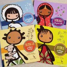 Libros: COLECCION EDELVIVES - AIYANA, ANAHI, LING, ALICIA, AYIRA, ALINGA, YUPIK, NIRALI. Lote 222356676