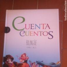 Libros: CUENTACUENTOS BILINGÜE ESPAÑOL E INGLÉS. Lote 222882173