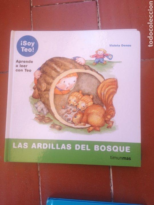 SOY TEO LAS ARDILLAS DEL BOSQUE (Libros Nuevos - Literatura Infantil y Juvenil - Cuentos infantiles)