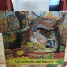 Libros: CUENTO LOS ANIMALES DEL BOSQUE CÍRCULO DE LECTORES. Lote 222948990