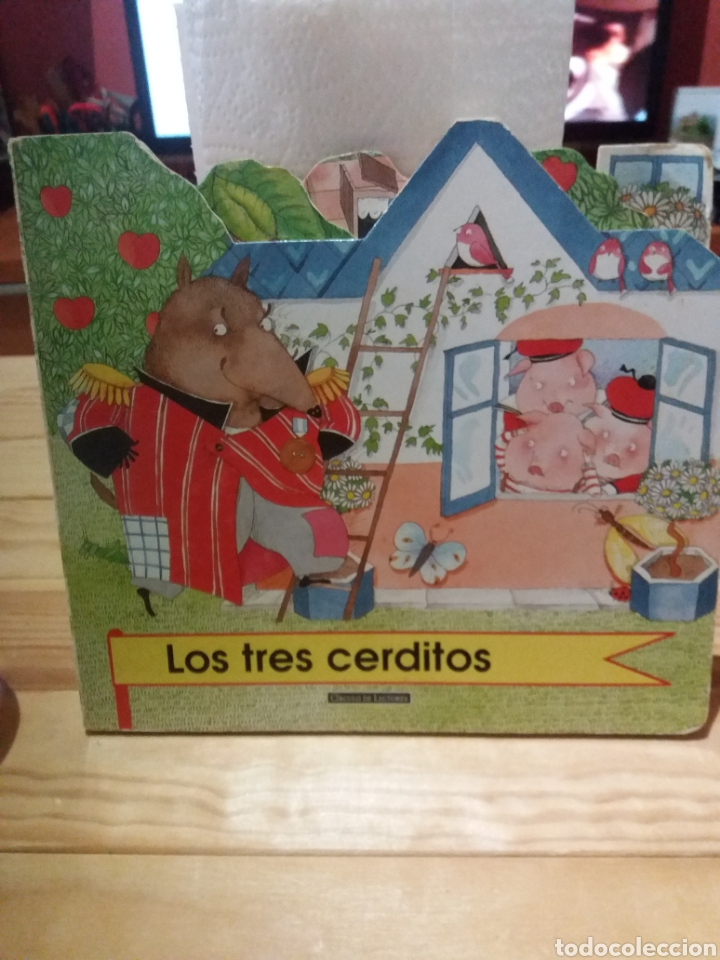 CUENTO LOS TRES CERDITOS CÍRCULO DE LECTORES (Libros Nuevos - Literatura Infantil y Juvenil - Cuentos infantiles)