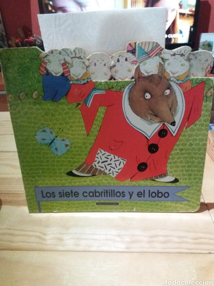 CUENTO LOS SIETE CABRITILLOS Y EL LOBO CÍRCULO DE LECTORES (Libros Nuevos - Literatura Infantil y Juvenil - Cuentos infantiles)