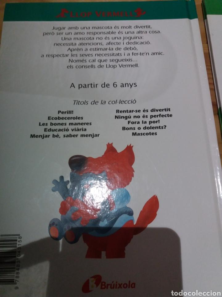 Libros: 2 cuentos en catalán con consejos del llop vermell - Foto 2 - 222950903