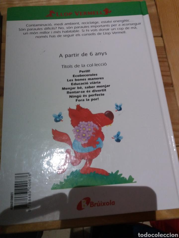 Libros: 2 cuentos en catalán con consejos del llop vermell - Foto 3 - 222950903