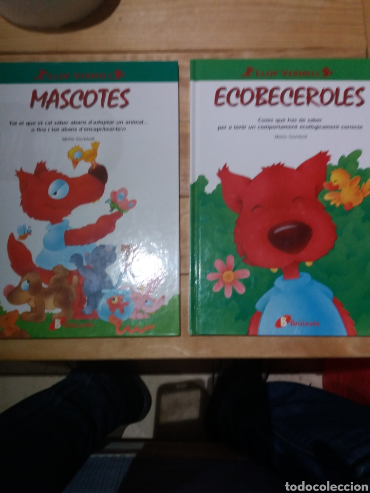 2 CUENTOS EN CATALÁN CON CONSEJOS DEL LLOP VERMELL (Libros Nuevos - Literatura Infantil y Juvenil - Cuentos infantiles)