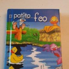 Livres: MINILIBRO CUENTO EL PATITO FEO MINIESCOGIDOS SERVILIBRO EDICIONES. Lote 227075715