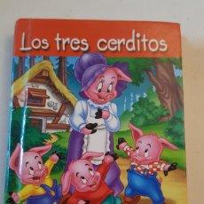Libros: MINILIBRO CUENTO LOS TRES CERDITOS MINIESCOGIDOS SERVILIBRO EDICIONES. Lote 227076700