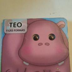 Libros: CUENTO EL HIPOPOTAMO TEO Y LAS FORMAS COLECCION VEO VEO EDICIONES SALDAÑA. Lote 227080715