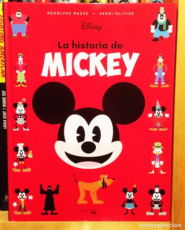 LA HISTORIA DE MICKEY, HÉROES DISNEY. HACHETTE (Libros Nuevos - Literatura Infantil y Juvenil - Cuentos infantiles)