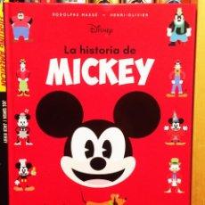 Libros: LA HISTORIA DE MICKEY, HÉROES DISNEY. HACHETTE. Lote 228290965