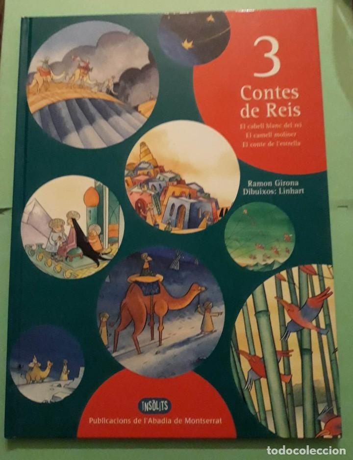 3 TRES CONTES DE REIS - Nº2 NADAL / NAVIDAD - RAMON GIRONA -DIBJ. LINHART -PUB. ABADIA DE MONTSERRAT (Libros Nuevos - Literatura Infantil y Juvenil - Cuentos infantiles)