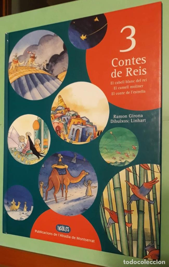Libros: 3 TRES CONTES DE REIS - Nº2 NADAL / NAVIDAD - RAMON GIRONA -DIBJ. LINHART -PUB. ABADIA DE MONTSERRAT - Foto 3 - 228612265