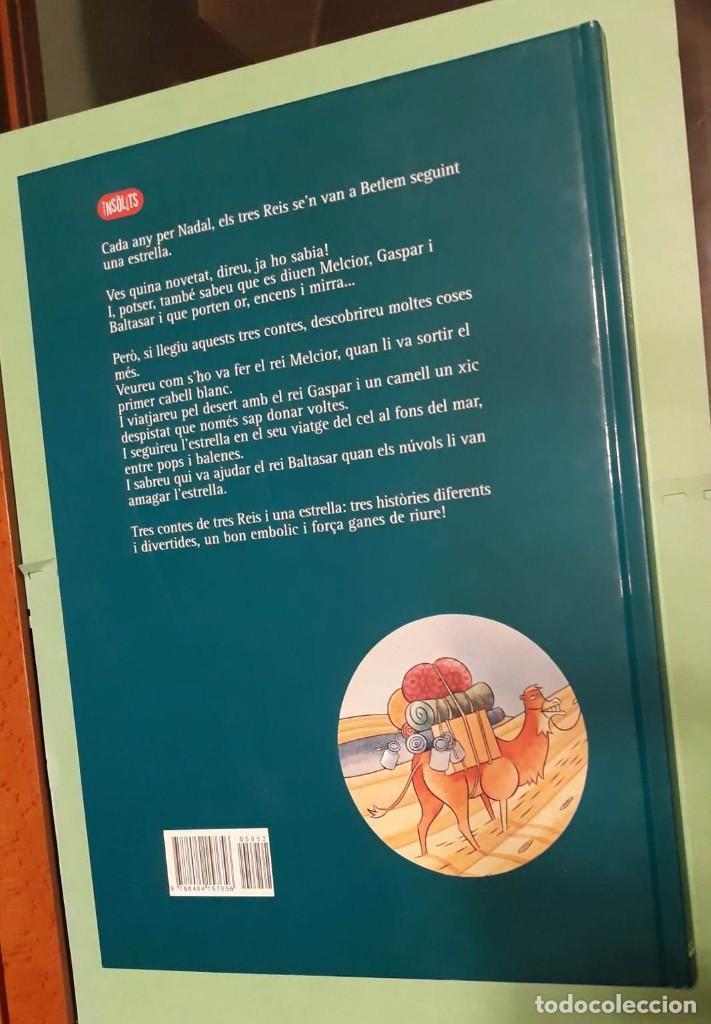 Libros: 3 TRES CONTES DE REIS - Nº2 NADAL / NAVIDAD - RAMON GIRONA -DIBJ. LINHART -PUB. ABADIA DE MONTSERRAT - Foto 5 - 228612265
