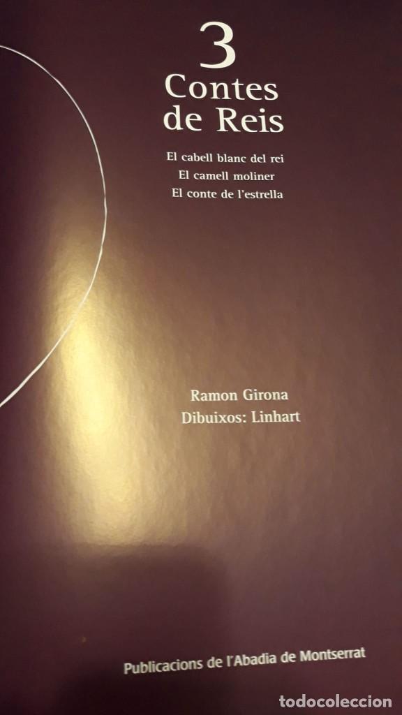 Libros: 3 TRES CONTES DE REIS - Nº2 NADAL / NAVIDAD - RAMON GIRONA -DIBJ. LINHART -PUB. ABADIA DE MONTSERRAT - Foto 6 - 228612265