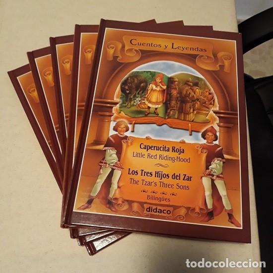 LOTE CUENTOS Y LEYENDAS (5 VOL. BILINGÜE) (DIDACO) ¡NUEVO! (Libros Nuevos - Literatura Infantil y Juvenil - Cuentos infantiles)