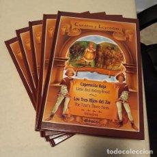 Libros: LOTE CUENTOS Y LEYENDAS (5 VOL. BILINGÜE) (DIDACO) ¡NUEVO!. Lote 232722652