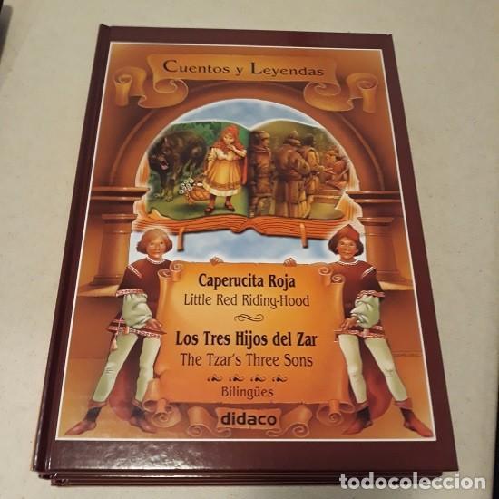 Libros: Lote Cuentos y Leyendas (5 vol. Bilingüe) (Didaco) ¡Nuevo! - Foto 2 - 232722652
