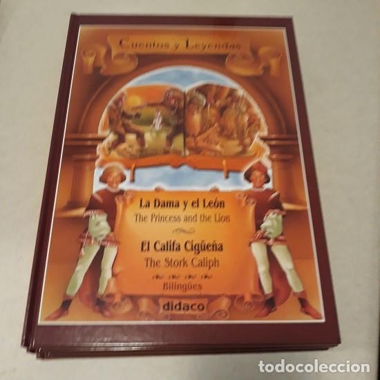 Libros: Lote Cuentos y Leyendas (5 vol. Bilingüe) (Didaco) ¡Nuevo! - Foto 3 - 232722652