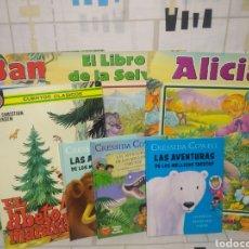 Libros: 7 CUENTOS VARIOS, BAMBI, ALICIA EL LIBRO DE LA SELVA, COLECCIÓN ESMERALDA.. ETC.... Lote 234428240