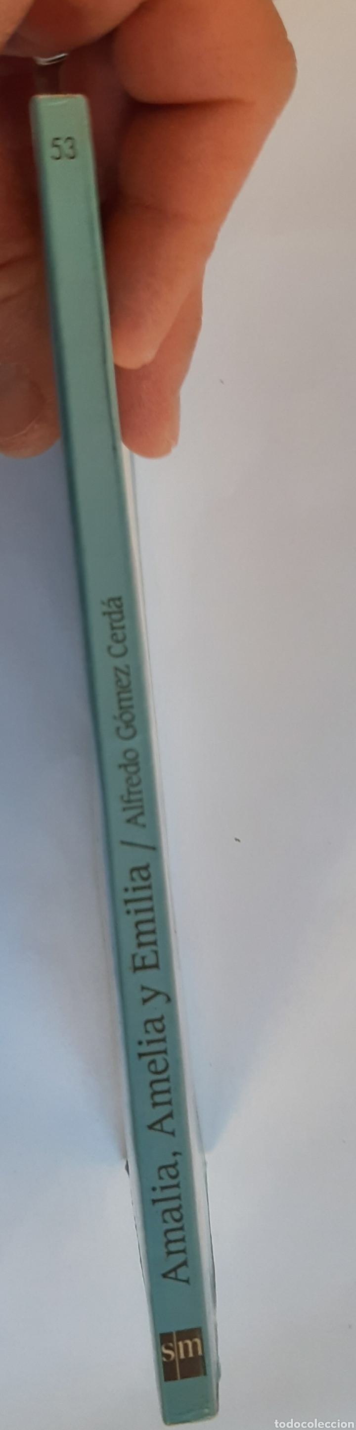Libros: Amalia, Amelia y Emilia, el barco de vapor número 53, S.M - Foto 3 - 234507840