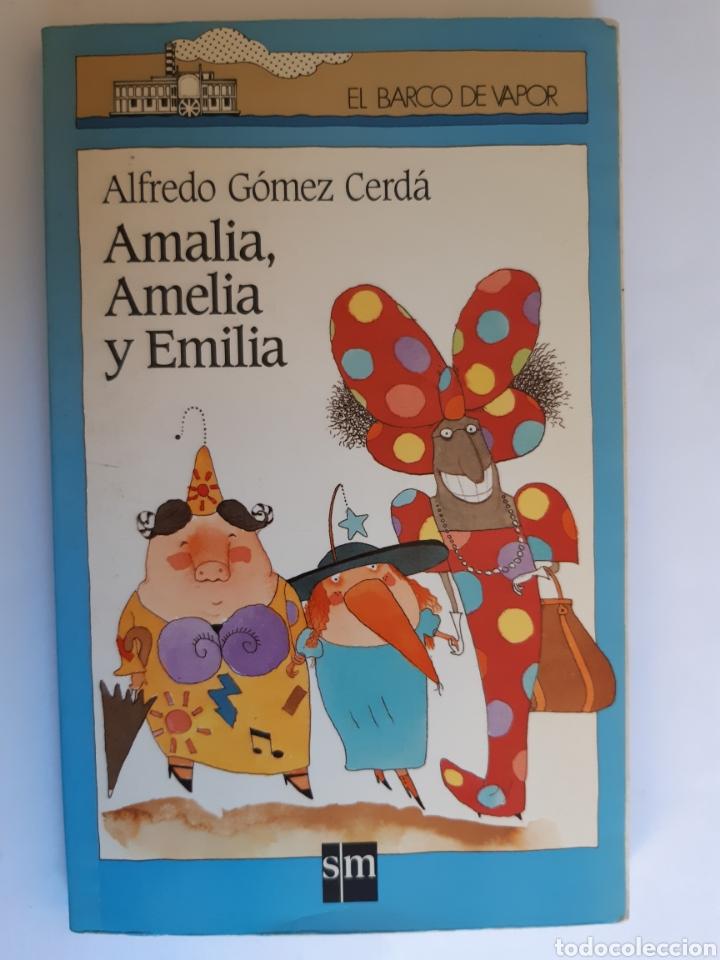 AMALIA, AMELIA Y EMILIA, EL BARCO DE VAPOR NÚMERO 53, S.M (Libros Nuevos - Literatura Infantil y Juvenil - Cuentos infantiles)