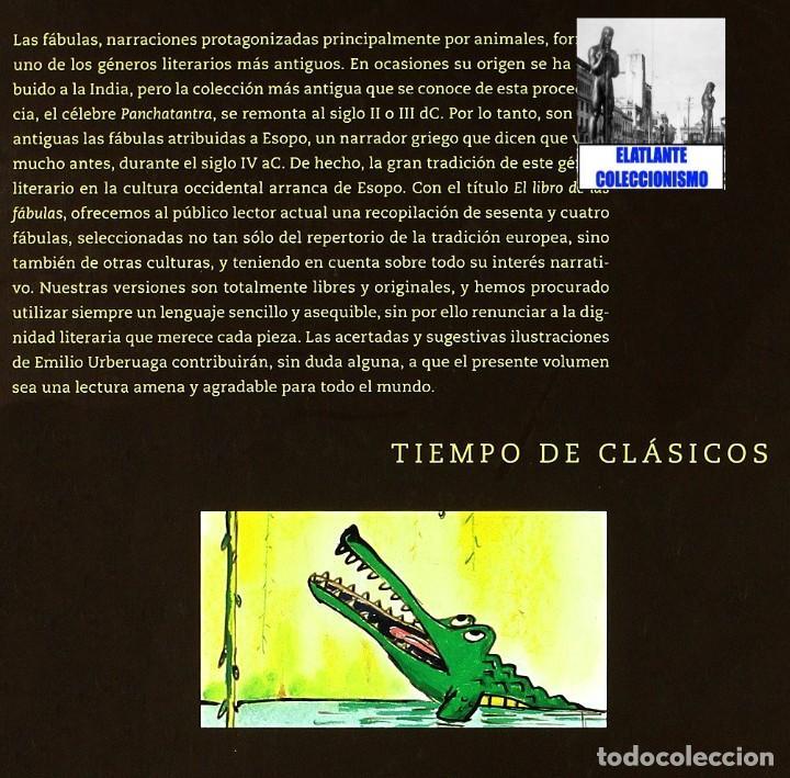 Libros: EL LIBRO DE LAS FÁBULAS - ADAPTACIÓN DE CONCHA CARDEÑOSO - ILUSTRACIONES DE EMILIO URBERUAGA - 18 € - Foto 25 - 234700290