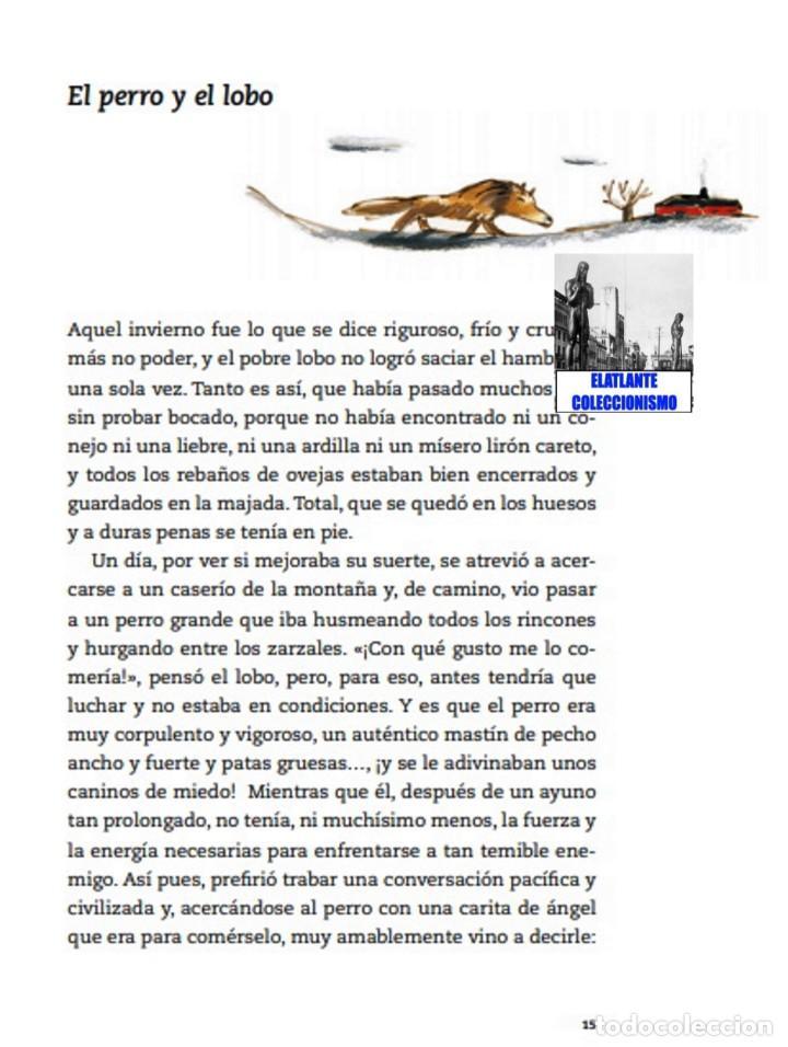 Libros: EL LIBRO DE LAS FÁBULAS - ADAPTACIÓN DE CONCHA CARDEÑOSO - ILUSTRACIONES DE EMILIO URBERUAGA - 18 € - Foto 7 - 234700290