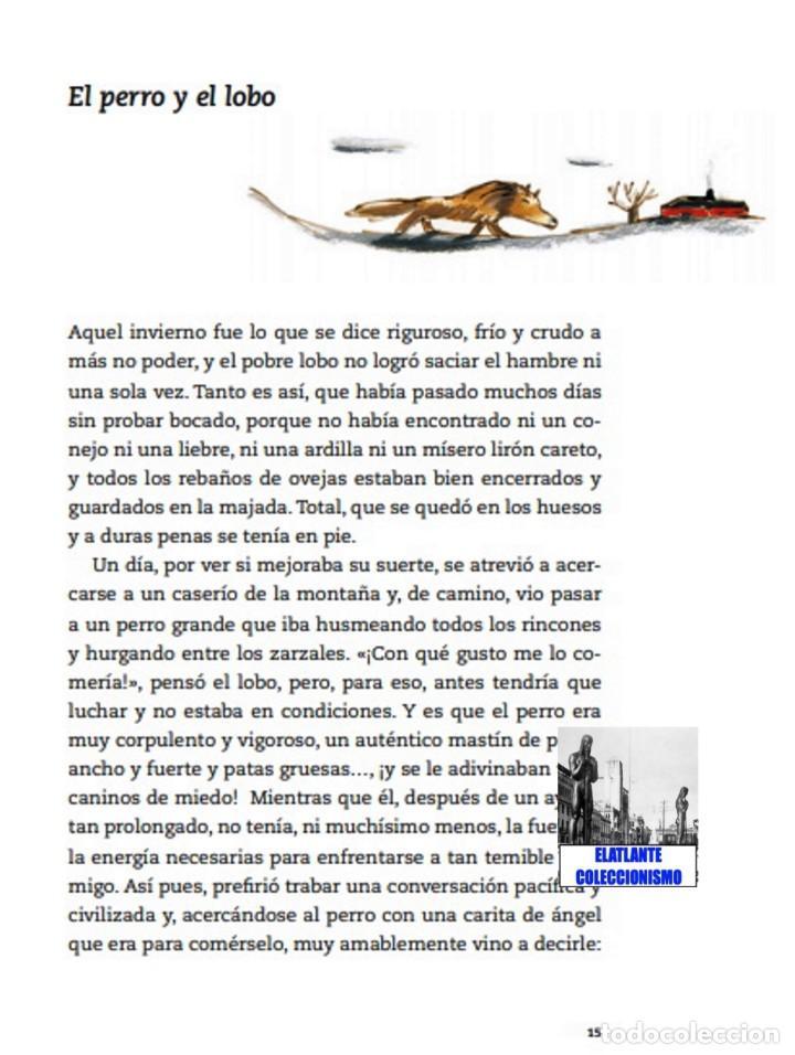 Libros: EL LIBRO DE LAS FÁBULAS - ADAPTACIÓN DE CONCHA CARDEÑOSO - ILUSTRACIONES DE EMILIO URBERUAGA - 18 € - Foto 8 - 234700290