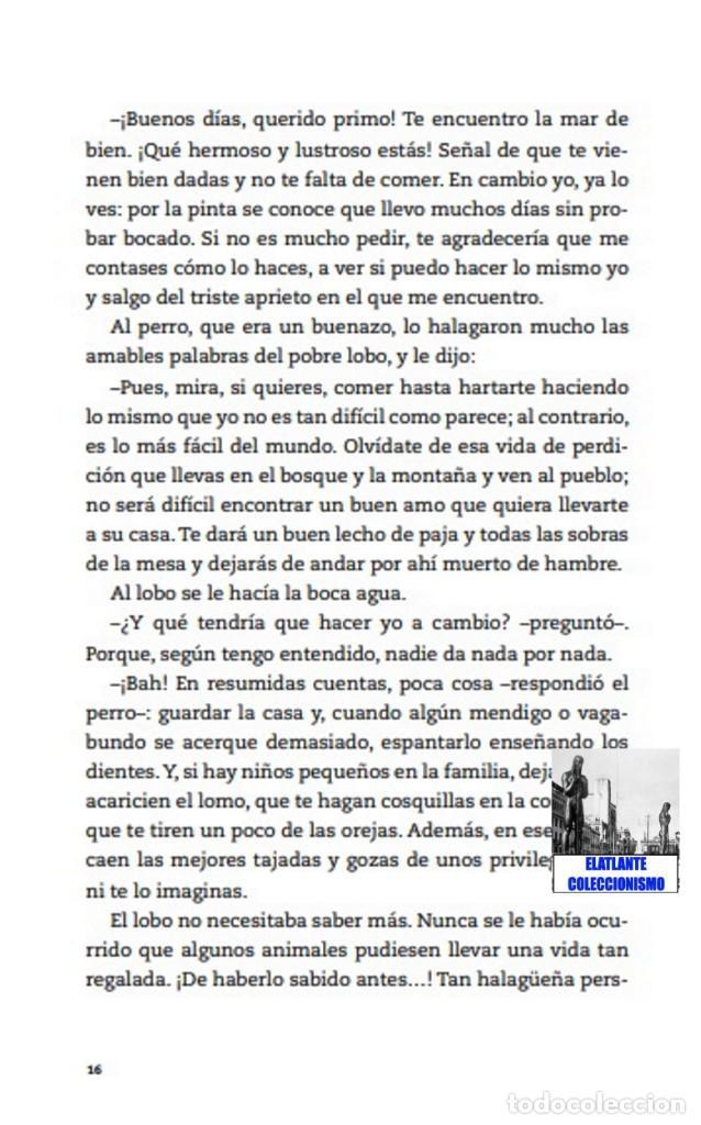 Libros: EL LIBRO DE LAS FÁBULAS - ADAPTACIÓN DE CONCHA CARDEÑOSO - ILUSTRACIONES DE EMILIO URBERUAGA - 18 € - Foto 10 - 234700290