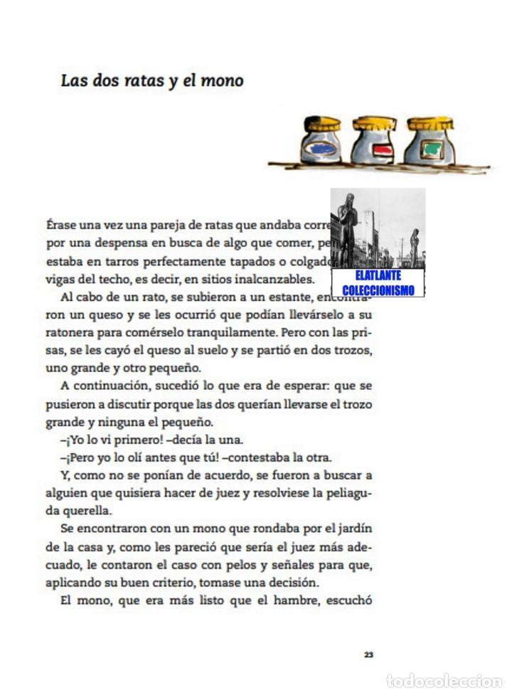 Libros: EL LIBRO DE LAS FÁBULAS - ADAPTACIÓN DE CONCHA CARDEÑOSO - ILUSTRACIONES DE EMILIO URBERUAGA - 18 € - Foto 23 - 234700290