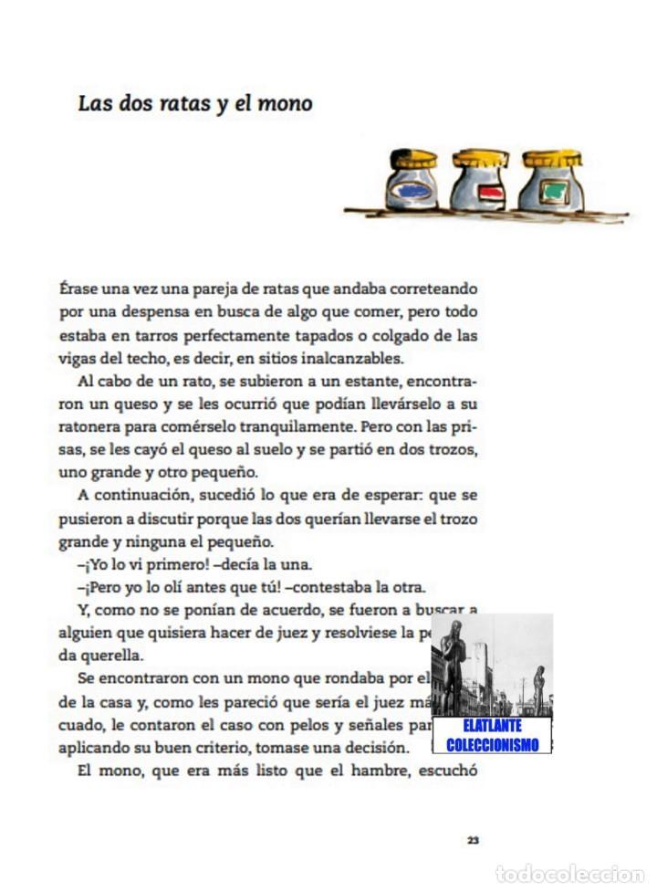 Libros: EL LIBRO DE LAS FÁBULAS - ADAPTACIÓN DE CONCHA CARDEÑOSO - ILUSTRACIONES DE EMILIO URBERUAGA - 18 € - Foto 24 - 234700290