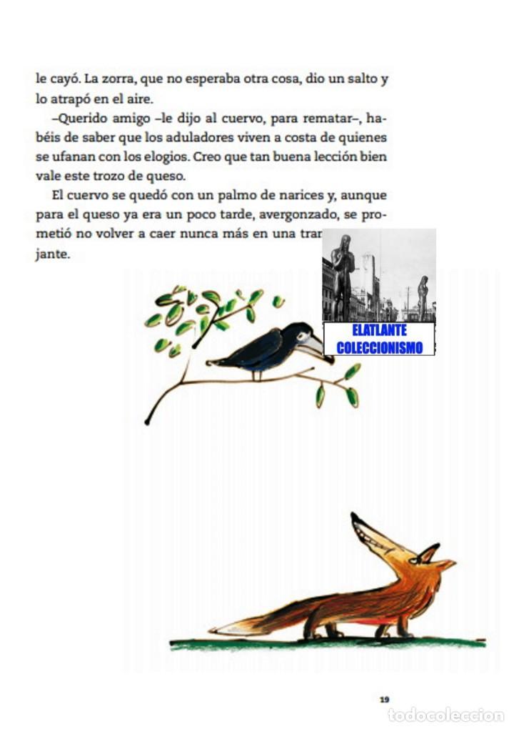 Libros: EL LIBRO DE LAS FÁBULAS - ADAPTACIÓN DE CONCHA CARDEÑOSO - ILUSTRACIONES DE EMILIO URBERUAGA - 18 € - Foto 15 - 234700290