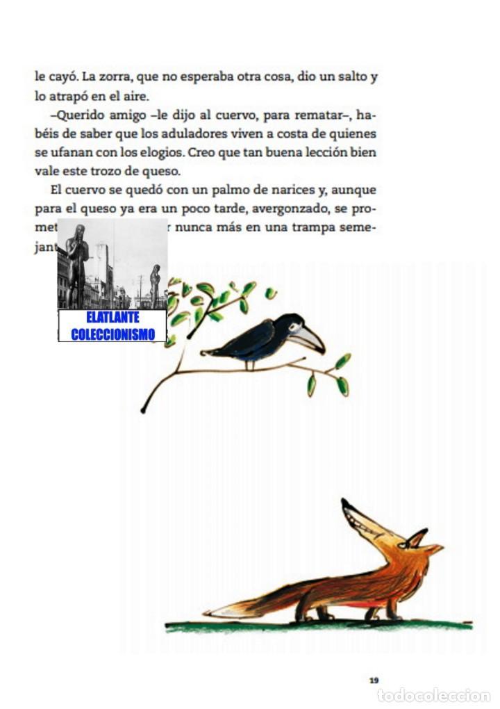 Libros: EL LIBRO DE LAS FÁBULAS - ADAPTACIÓN DE CONCHA CARDEÑOSO - ILUSTRACIONES DE EMILIO URBERUAGA - 18 € - Foto 16 - 234700290