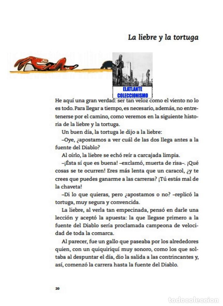 Libros: EL LIBRO DE LAS FÁBULAS - ADAPTACIÓN DE CONCHA CARDEÑOSO - ILUSTRACIONES DE EMILIO URBERUAGA - 18 € - Foto 17 - 234700290